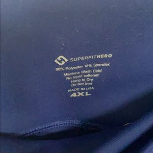 Super Fit Hero Blue Leggings